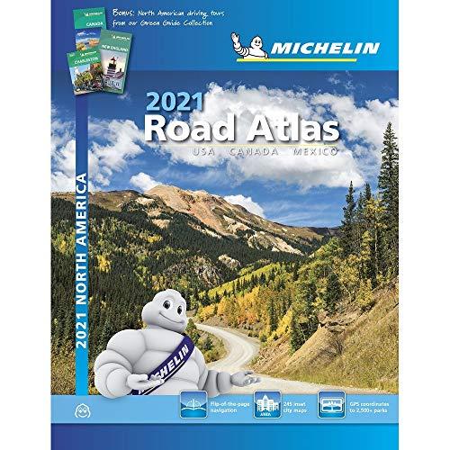 Michelin 2021 Road Atlas North America: USA, Canada, Mexico (Michelin Road Atlas)