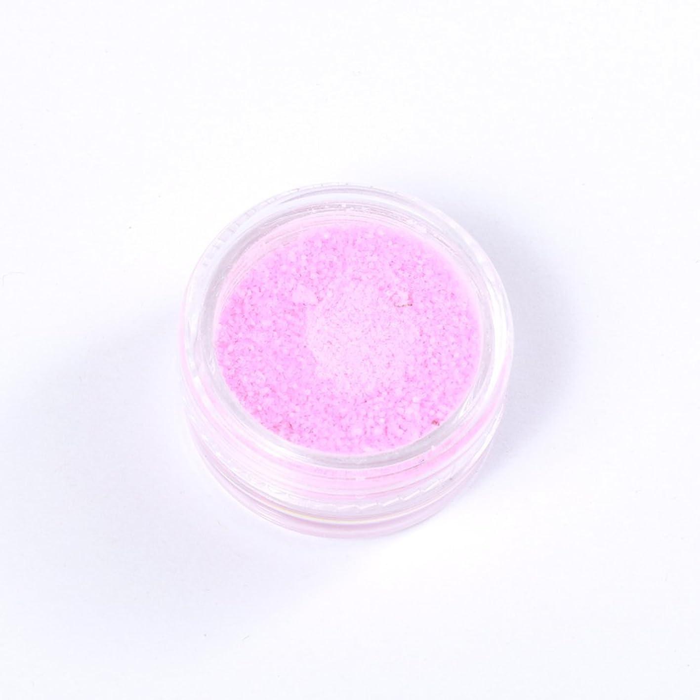 ブレークロック解除肉夜光 パウダー ピンク ケース付 ホログラム 蓄光【ラインストーン77】