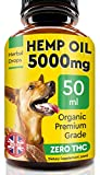 Pawfectchow Hemp Oil - 50ml - 5000 MG Made in UK Hemp Extract - Pure Premium Grade - Omega-3, 6