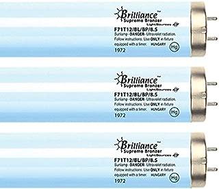 Brilliance Supreme Bronzer F71T12 8.5% 100W Bipin Tanning Bulbs - Hot Lamps! (16)