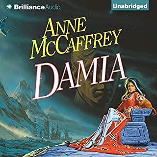 Damia audiobook cover art