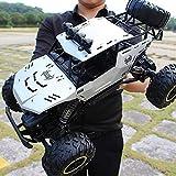 Nuevo RC Car 4X4 RC Rock Crawler 1/12 4WD Monster Truck Rock Crawler Control remoto de gran tamaño Coche todoterreno Impermeable 2.4Ghz RC Rock Crawler Vehículo de emoción para niños, juguetes de rega