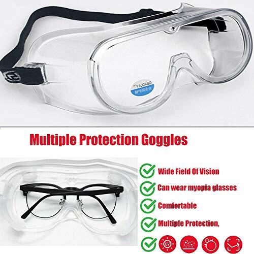 Gessing Gafas Protectoras antisaliva para los Ojos