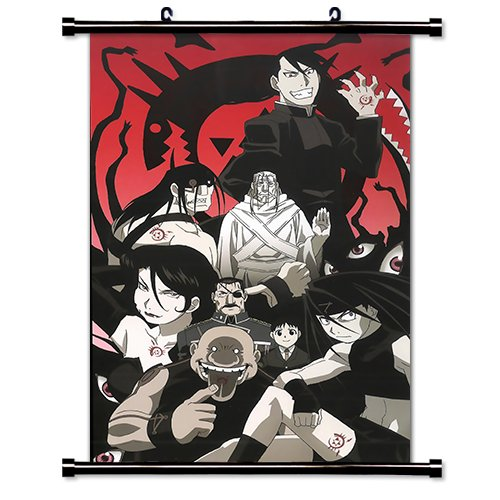 Full Metal Alchemist Anime Fabric Wall Scroll Poster (16' x 25') Inches. [WP]-FullMetalAlch-610