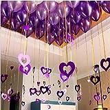 1set Amour Paillettes Ballons Pendentif Pluie fête d'anniversaire de Mariage Décoration Jeune mariée à être Bachelorette Party Bricolage Globos Décoration