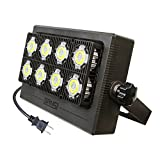 Outdoor LED Flood Light 350W Equiv. 5000lm Super Bright Security Light, LED Work Light, 5700K Daylight White, IP66 Waterproof Outdoor Lamp Exterior Wall Light for Yard Garage Porch 90-264V