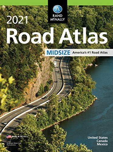 Rand McNally 2021 Midsize Road Atlas Rand McNally Road Atlas product image