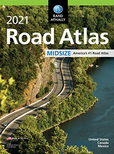 Compare Textbook Prices for Rand McNally 2021 Midsize Road Atlas Rand McNally Road Atlas  ISBN 9780528022456 by Rand McNally