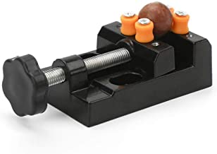 Yakamoz Universal Mini Drill Press Vise Clamp Table Bench Vice for Jewelry Walnut Nuclear..