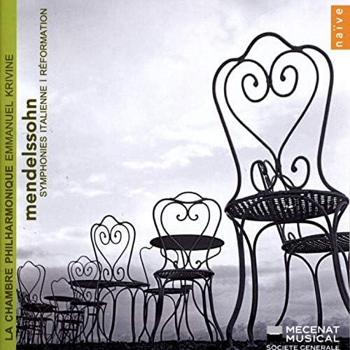 Emmanuel Krivine, Chambre Philharmonique