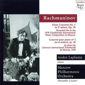 Rachmaninov: Piano Concerto No.3 in D Minor, Op.30