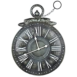 Cooper Classics Holbrook Wall Clock