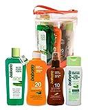 Babaria - Set balsamo, proteccion solar, aceite protector y locion hidratante