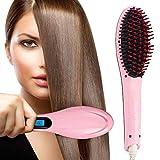 KeepBro Hair Electric Comb Brush 3 in 1 Ceramic Fast Hair Straightener