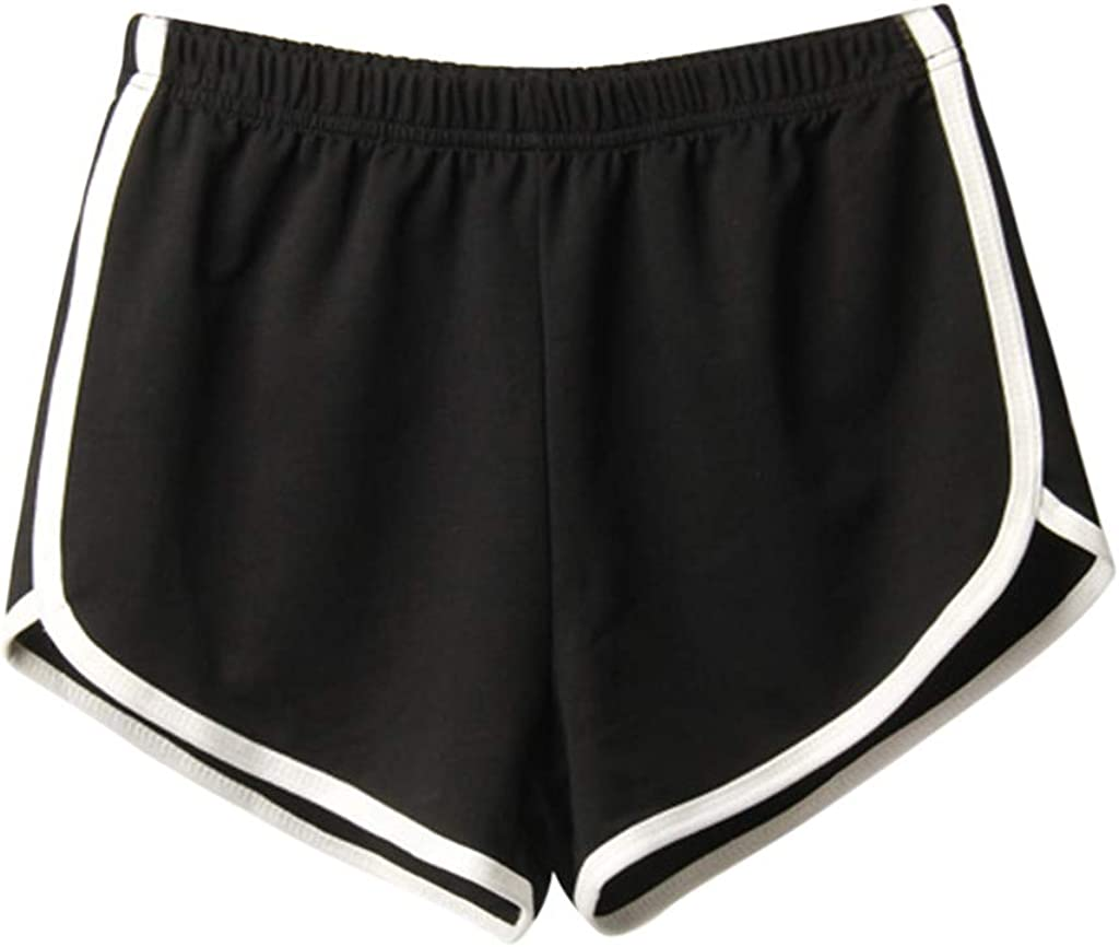 Recommended Womens Hot Pants Casual Yoga Shorts C Summer Solid Fashion Popularity Sport