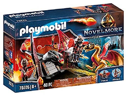 Playmobil - Burnham Raiders et Dragon Doré - 70226