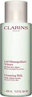 Clarins Anti-pollution Cleansing Milk, Alpine Herbs, 13.9 Ounce