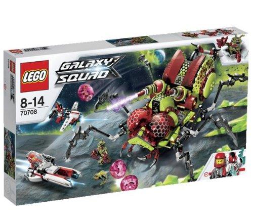 LEGO El insecto afilado 70708 + la captura de la araña - 70706
