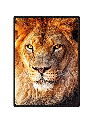 Qihua Printed Lion Throw Blanket Super Soft and Cozy Fleece Feeling Blanket Perfect for Couch Sofa Bed Animal Blanket 150CMx200CM (6)