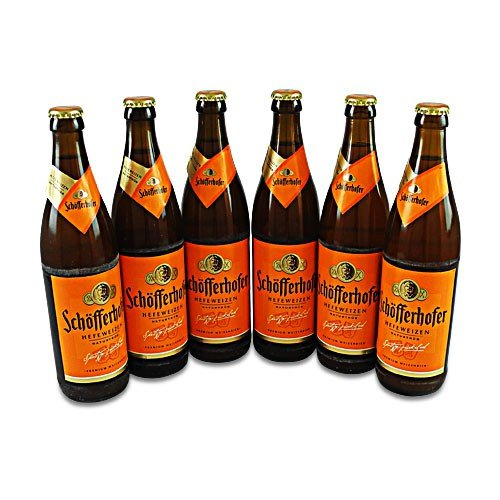 Schöfferhofer Weizen naturtrüb (6 Flaschen à 0,5 l / 5,0% vol.)