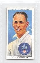 Jack Fingleton 1938 Player Cigarettes Cricketers #41 (EX)