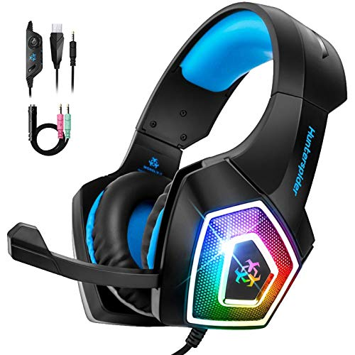 [Amazon] 30% Off Over-Ear Gaming Headset with Soft Memory Earmuff and Noise Canceling Microphone $13.29