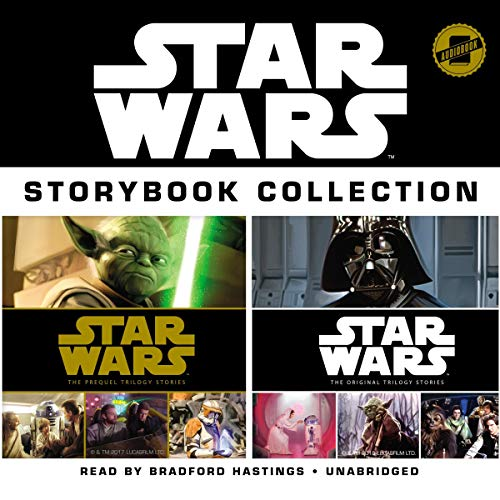 Star Wars Storybook Collection audiobook cover art