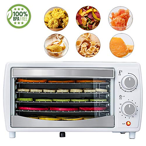 Amazing Deal Food Dryer, Household Dried Fruit Machine 5 Layers Large Capacity 68 ° C Constant Temp...
