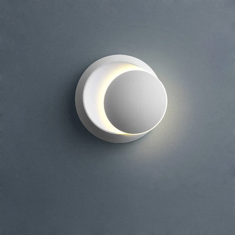 quwewn Simplicity Creativity Modern Max 66% OFF Wall store PVC Lampshade Lamp Warm