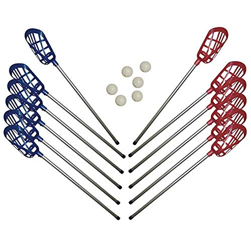 Softee Equipment Set Juego Lacrosse (12 Palos + 6 Pelotas)