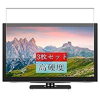 3枚 Sukix フィルム 、 ハイセンス Hisense HJ24K3120 24インチ テレビ 向けの 液晶保護フィルム 保護フィルム シート シール(非 ガラスフィルム 強化ガラス ガラス )