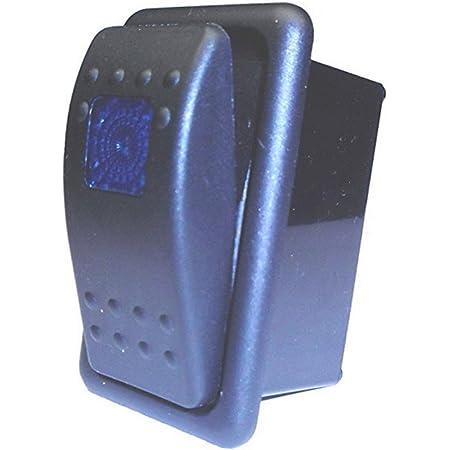 Mintice Kfz Kippschalter Druckschalter Schalter Wippschalter Wasserdicht 12v 20a 24v 10a Rot Led Licht 4pin An Aus Schalterhalter Auto