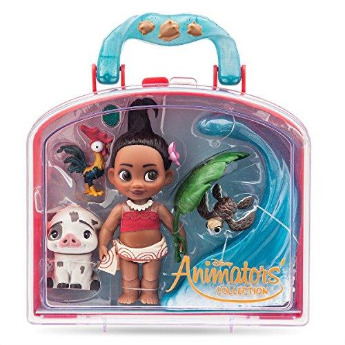 Disney Colección de Moana Mini muñeca Juego Play animadores