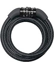 Masterlock 66355 spiraalkabelslot, zwart, vinylgecoat
