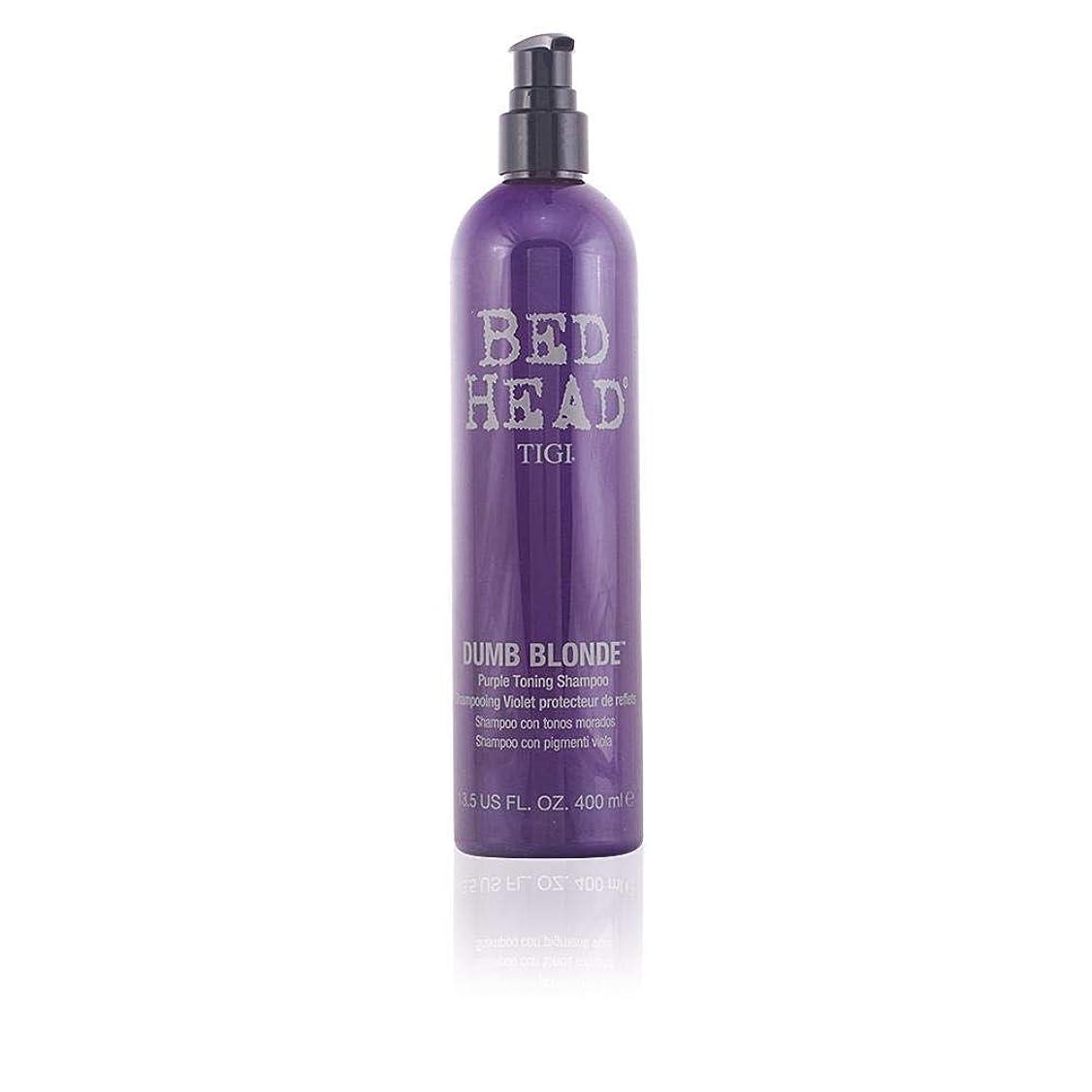 領事館安価な衝撃Tigi Bed Head Dumb Blonde Purple Toning Shampoo - 400ml/13.5oz by Tigi