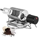 HRRH Tostador de café, Máquina para tostar Granos de café de Uso en el hogar 40w, Cacahuetes de máquina de Tostado...