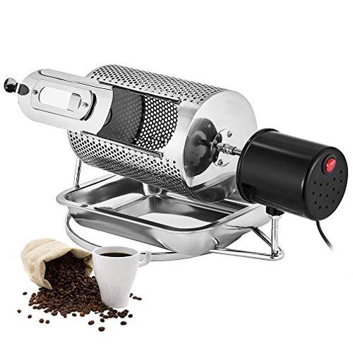 HRRH Tostador de café, Máquina para tostar Granos de café de Uso en el hogar 40w, Cacahuetes de máquina de Tostado de Granos de café de Acero Inoxidable, 110V / 220V
