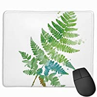 緑の葉 マウスパッド 25×30 大判 ノンスリップ 防水 ゲーミング おしゃれ マウスの精密度を上がる