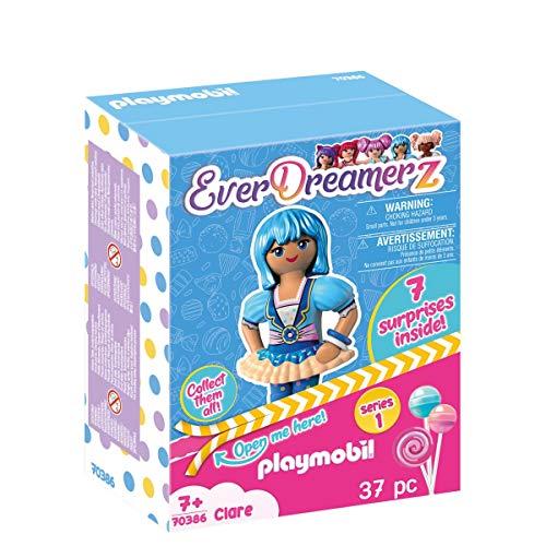 PLAYMOBIL-EverDreamerz 70386 Clare mit Donut-Anhänger, Ab 7 Jahren