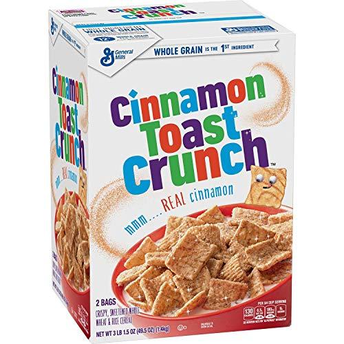 Cinnamon Toast Crunch Cereal 495 oz box vevo