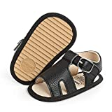 Sawimlgy Baby Girls Boys Sandals Infant Summer Shoes Casual PU Leather Soft Rubber Sole Bowknot Toddler Newborn First walker Crib Beach Sandals Shoes