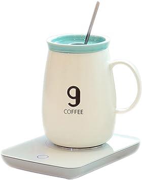 OKcafe Auto Shut Off Coffee 10.8 Ounce Coffee Mug Warmer