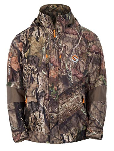 ScentLok Morphic Waterproof 3-in-1 Jacket (Mossy Oak Country, Large)