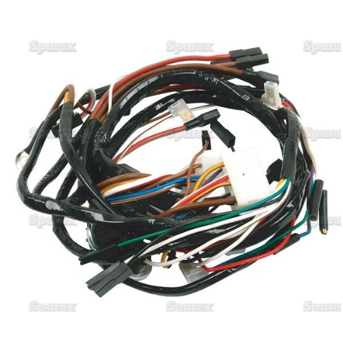 Ford Tractor Main Wiring Harness for US Series 2000 3000 4000 Diesel Tractors '65-74 incl. Industrial Loader/Backhoe