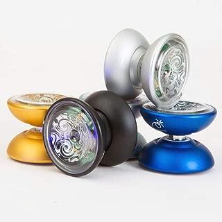 YoYoFactory KUI Yo-Yo - Precision Metal Body LED YoYo- with Many Extras! (Galaxy)