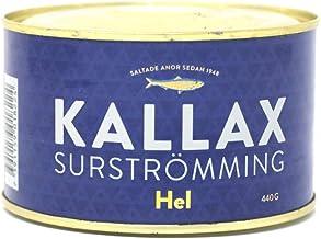 Kallax Surströmming - Lata de arenque fermentado, 440g