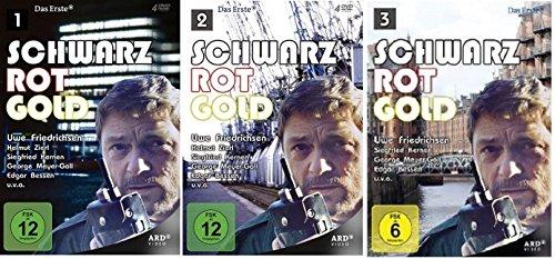 Produktbild Schwarz Rot Gold - Staffel 1+2+3 (1-3) - Folge 01-18 [DVD Set]