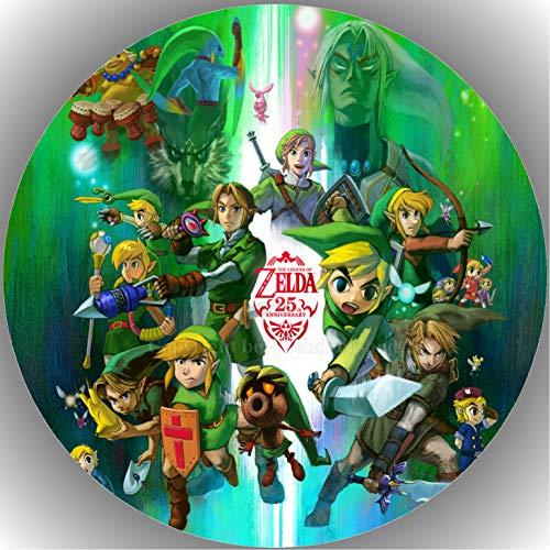 Fondant Tortenaufleger Tortenbild Geburtstag Die Legende von Zelda AMA10
