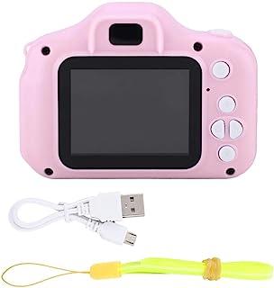 Kid Action Camera Peuter Videorecorder 1080P Kid Camera, Kid Camcorder, X2 Mini Portable voor Verjaardag Kerstmis Nieuwjaa...