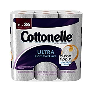 Cottonelle Ultra Toilet Paper Double Roll, 18 Count (B00DPK59QC) | Amazon price tracker / tracking, Amazon price history charts, Amazon price watches, Amazon price drop alerts